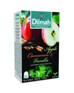 Herbata DILMAH AROMAT JABŁKO&CYNAMON 20t