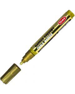 Markery kredowe końcówka 45mm-złoty TOMA