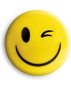 Magnesy do tablic żółte uśmiechy 40mm(4) GM303-SY4 TETIS