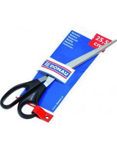 Nożyczki 25.5cm czarne 7921001-01 DONAU