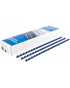 Grzbiet do bindowania DATURA/NATUNA 16mm (100szt) niebieski