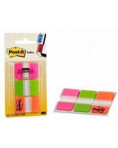 Zakładki indeksujące 3x22k 38x25 mix pastel 3M POST-IT 686-PGO