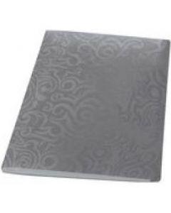 Teczka A4 z dociskiem TAI CHI srebrna 0410-0076-12 PANTA PLAST