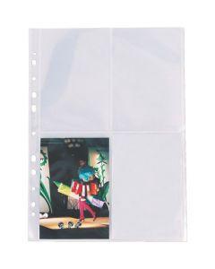 Koszulki na zdjęcia 10x15cm ESSELTE pionowe (10szt) 78001