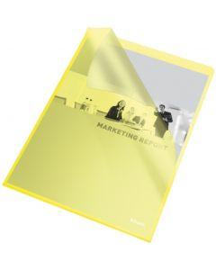Ofertówki groszkowe A4 115mic żółte (25szt) ESSELTE 60836