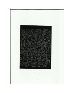 LITERY samop.1.5cm(8) czerwone ARTDRUK