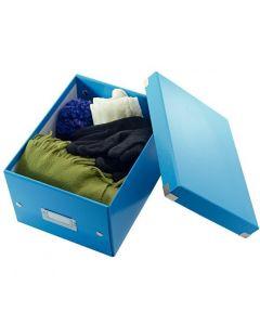 Pudło LEITZ C&S uniwersalne małe WOW niebieskie 60430036
