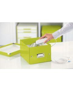 Pudło LEITZ C&S uniwersalne małe WOW zielone 60430064